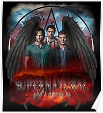 Supernatural Gods Among Us 5 Poster