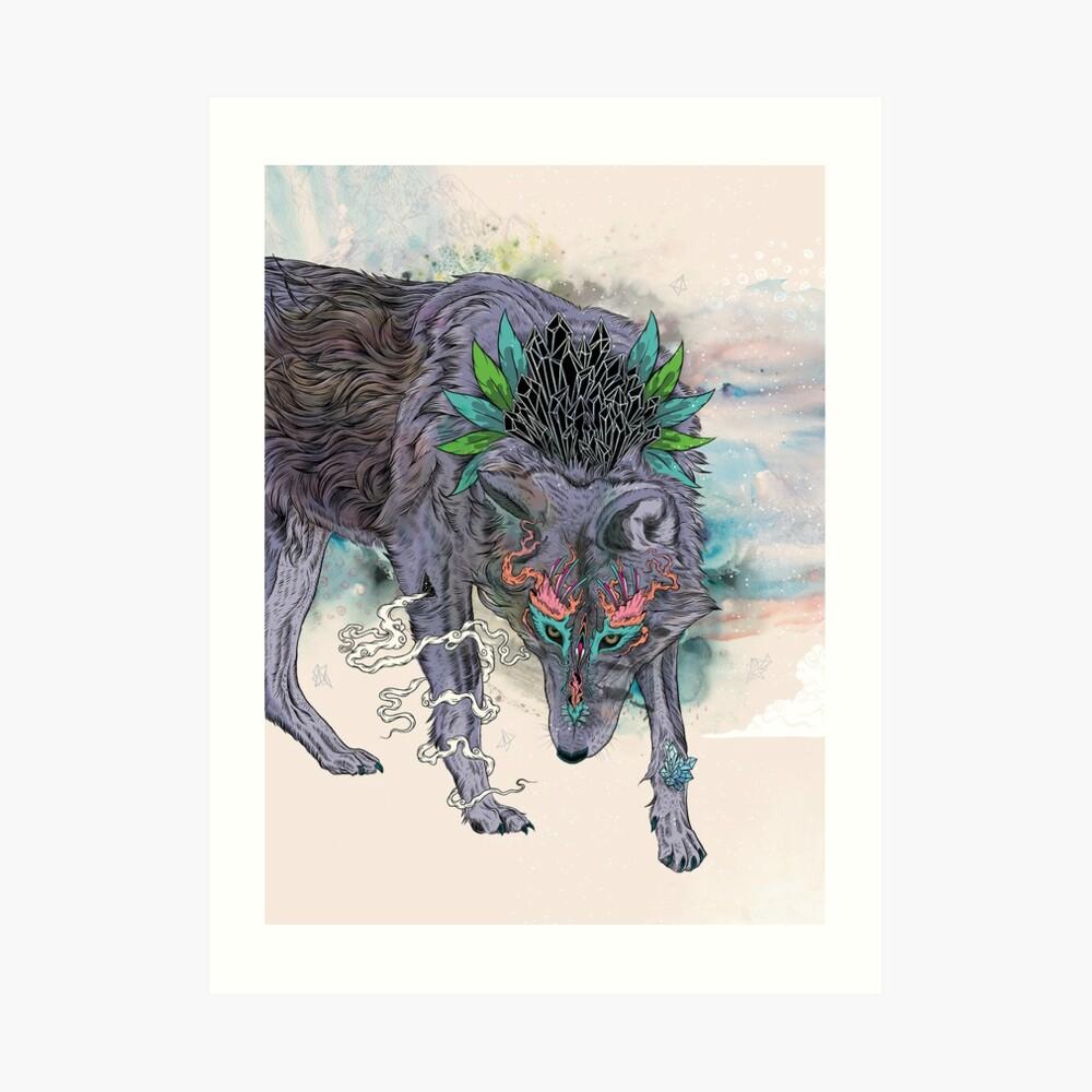 Journeying Spirit Art Print