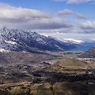 View from Coronet Peak by Nigel Roulston
