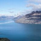 View from the Queenstown gondola by Nigel Roulston