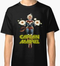 CAPTAIN MARVEL SUPERHERO Classic T-Shirt