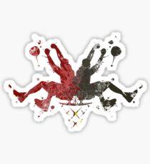 Heat Rorshaq Sticker