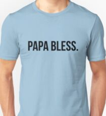 Papa Bless - version 1 - black T-Shirt