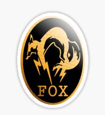 Foxhound Metal Gear Logo Sticker