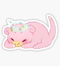 Slowpoke PokemonSticker Sticker