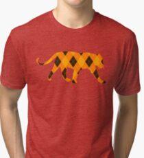 Argyle Tiger Tri-blend T-Shirt