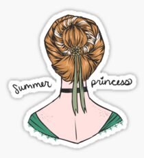 Summer Princess Sticker