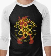 Powerline Men's Baseball ¾ T-Shirt