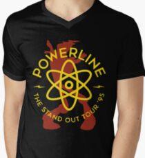 Powerline Men's V-Neck T-Shirt