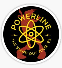Powerline Sticker