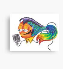 El-FISH Presley Canvas Print