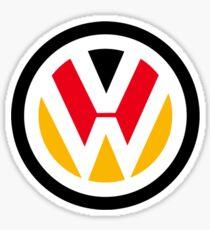 VW Deutsch at heart Sticker