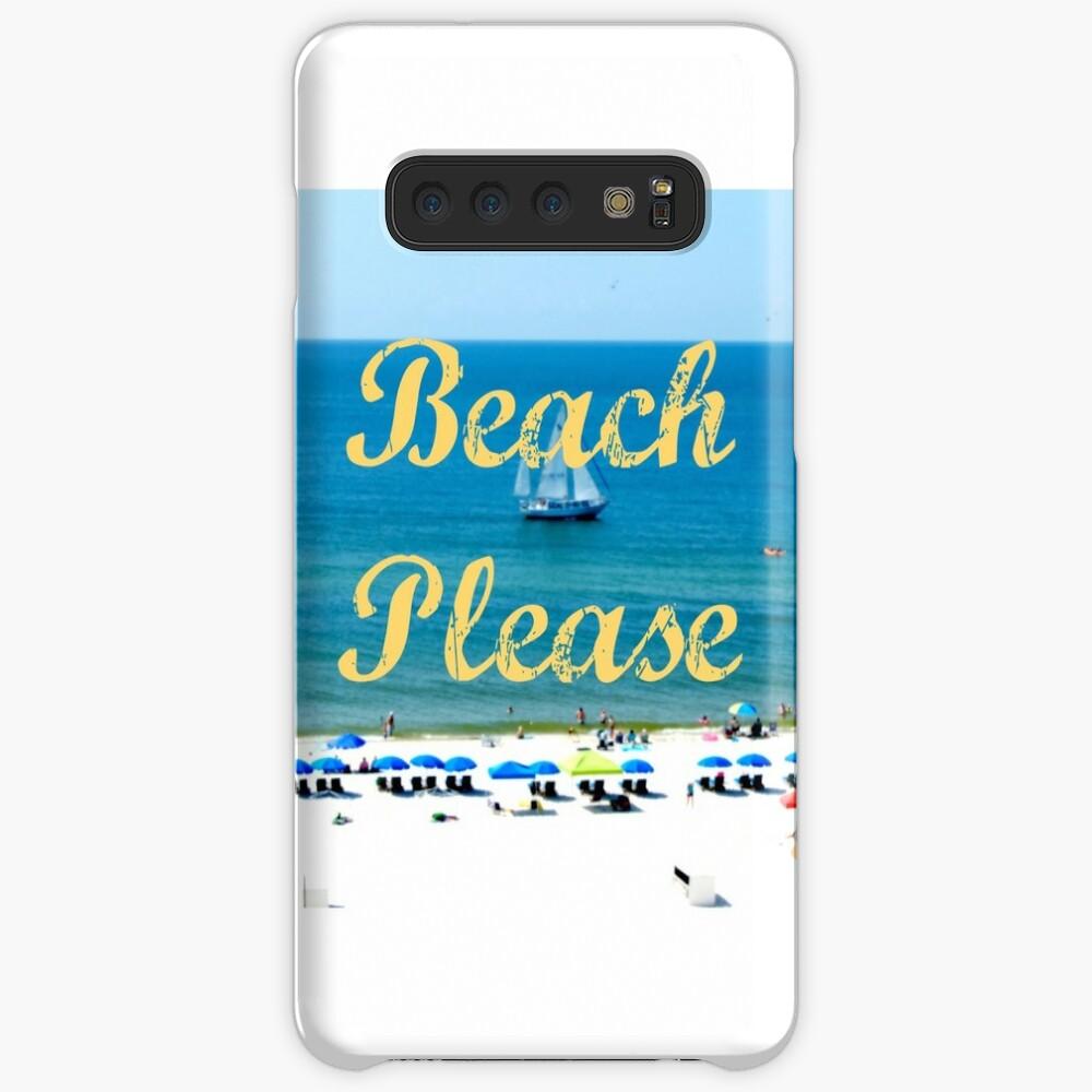 Beach Please Ocean View Case & Skin for Samsung Galaxy