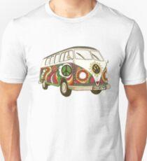 Vintage Psychedelic Kombi Unisex T-Shirt