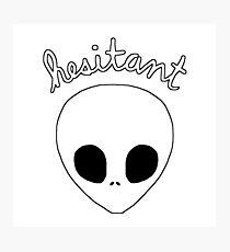 Gerard Way Hesitant Alien Photographic Print