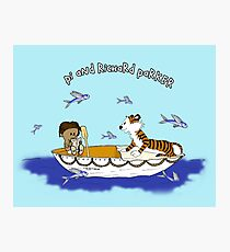 Pi and Richard Parker Photographic Print