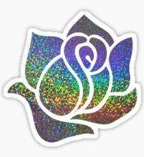 metallic rose Sticker