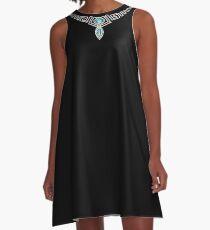 Diamonds necklace A-Line Dress