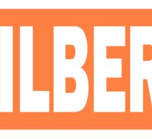 Erin Gilbert Name Tag Sticker
