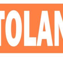Patty Tolan Name Tag Sticker