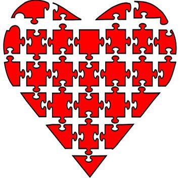 puzzled heart von dollymod