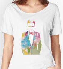 Justin Timberlake Water Colour Women's Relaxed Fit T-Shirt