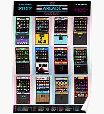 The Arcade Calendar - 2017 Poster