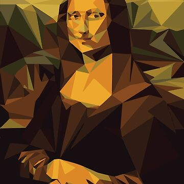 Mona Lisa (Low Poly) by supremium