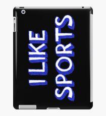 I Like Sports iPad Case/Skin