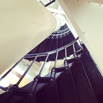 Spiral staircase by Hickoryhill