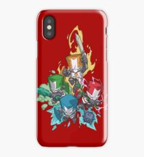 Castle crashers iPhone Case/Skin