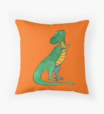 Tyrannosaurus Throw Pillow