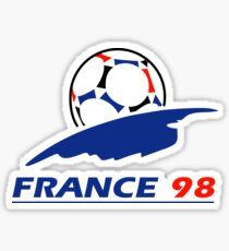 France 98 Sticker