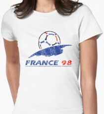 France 98 - Vintage Women's Fitted T-Shirt