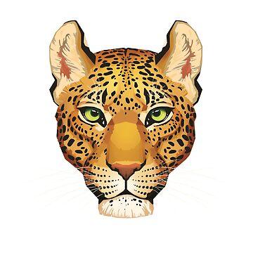 Leopard Face by PaulaLucas