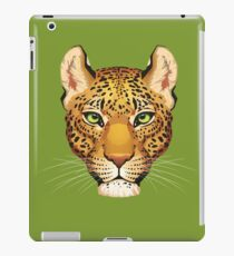 Leopard Face iPad Case/Skin