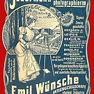 Vintage German Photographic Advert by Kawka