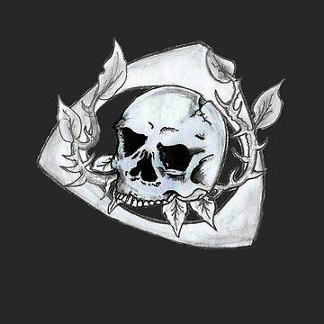 Mazda Rotary Skull by kandikittin