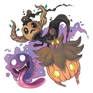 Ghost Type Spooktacular by vainglory
