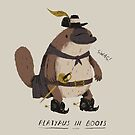 platypus in boots by louros