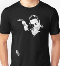 Gomez y Morticia Unisex T-Shirt