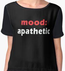 Mood:Apathetic Chiffon Top