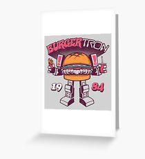 BurgerTRON Greeting Card