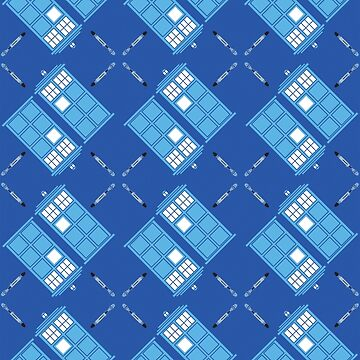 Gallifrey Argyle by vonplatypus