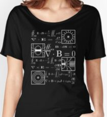 Maxwell's Equations Women's Relaxed Fit T-Shirt