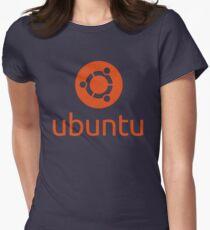 Ubuntu Womens Fitted T-Shirt