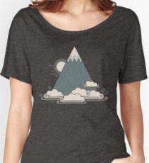 Cloud Mountain Women's Relaxed Fit T-Shirt