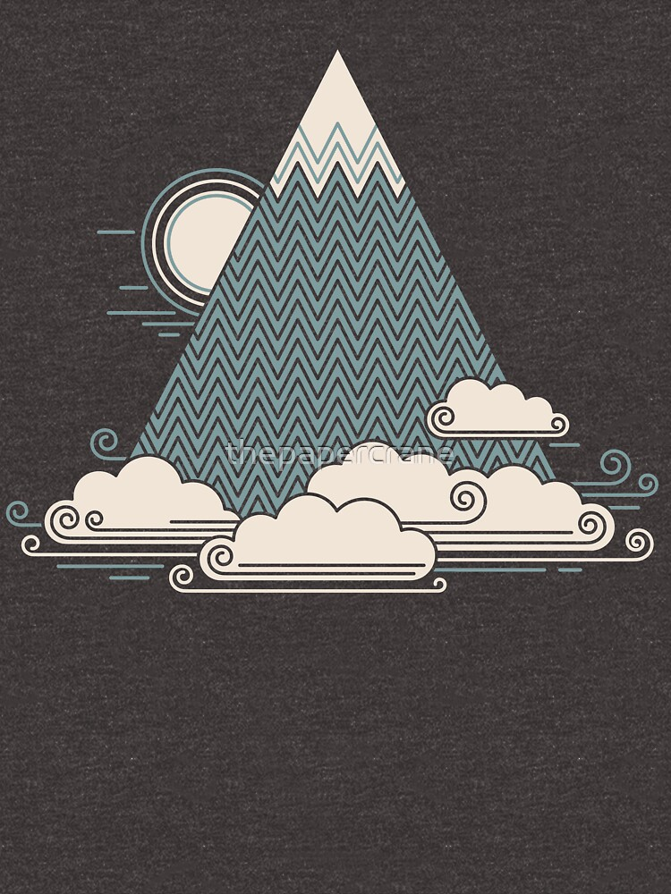 Cloud Mountain by thepapercrane