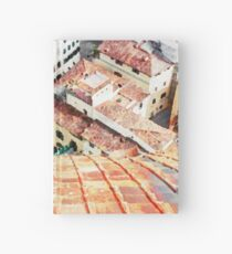 Florence watercolor painting Hardcover Journal