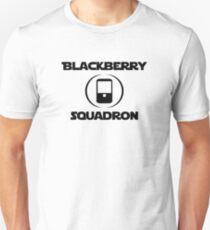 BlackBerry Squadron (Black) Unisex T-Shirt